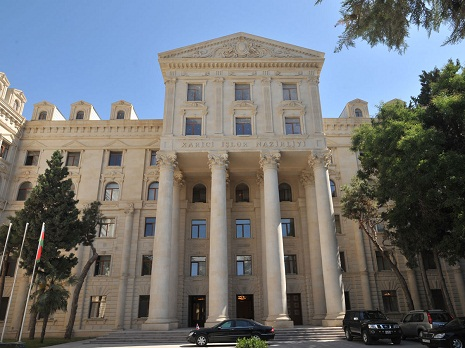 Statement by Armenian MFA's rep contradicts to rules of diplomatic etiquette, Baku says