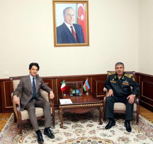 Azerbaijan, Italy discuss military-technical cooperation