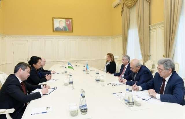 Uzbek delegation visits Azerbaijan Prosecutor General`s Office