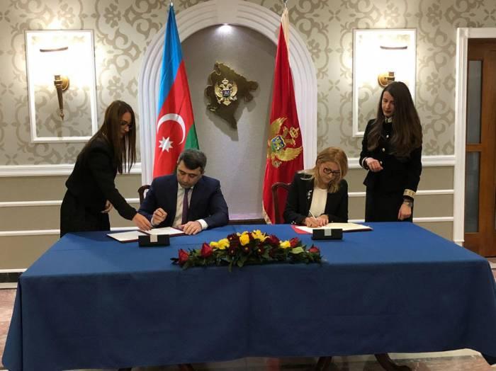 """Firmado el Memorándum de Entendimiento de """"El Servicio ASAN"""" en Montenegro"""