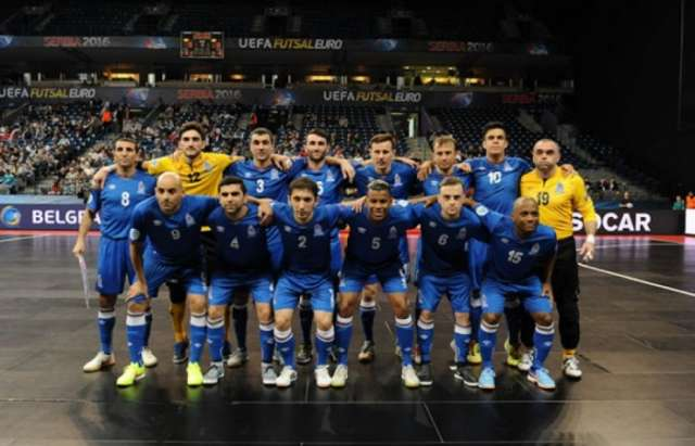 Azerbaijani futsal team to face Moldova in friendlies