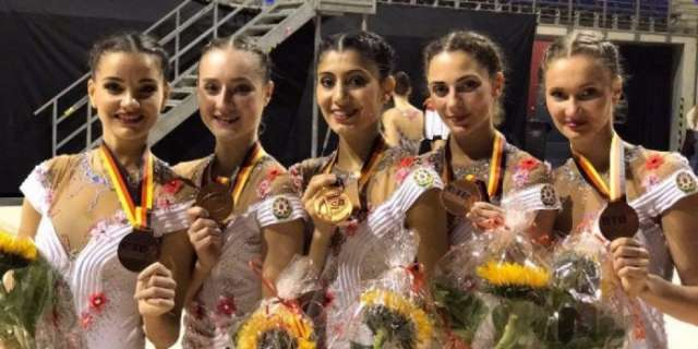 Azerbaijani artistic gymnasts claim 5 medals at Berlin Masters World Challenge Cup 2017