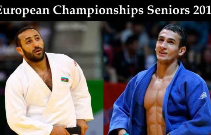 Azerbaijani judo fighters grab medals at European Championships