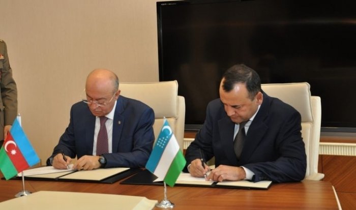 Azerbaijani, Uzbek emergency situations ministries sign action plan on cooperation