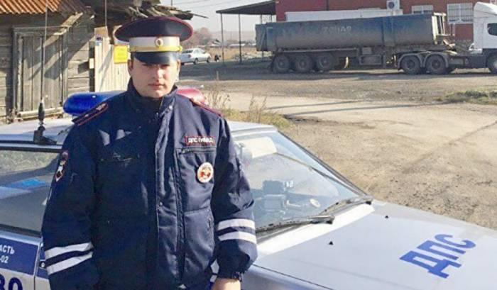 Azərbaycanlı polis Rusiyada bir ailəni ölümdən xilas edib