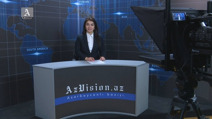 AzVision English releases new edition of video news for January 8 - VIDEO