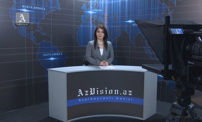 AzVision English releases new edition of video news for January 4 - VIDEO
