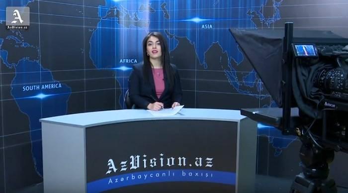 AzVision begann mit den Video Nachrichten auf Englisch
