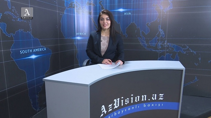 AzVision English releases new edition of video news for January 9 - VIDEO