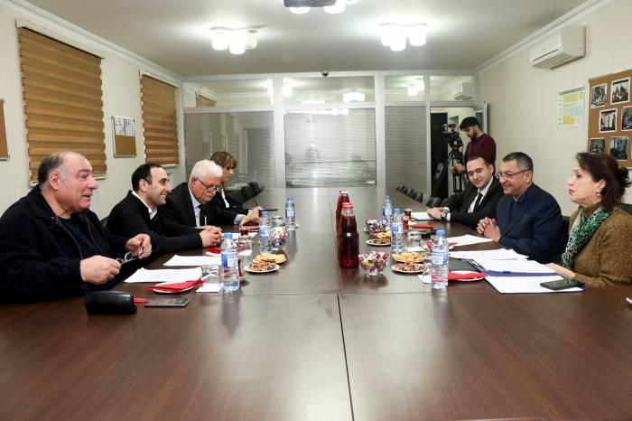 Sülh Platformasının İdarə Heyəti toplandı - FOTOLAR