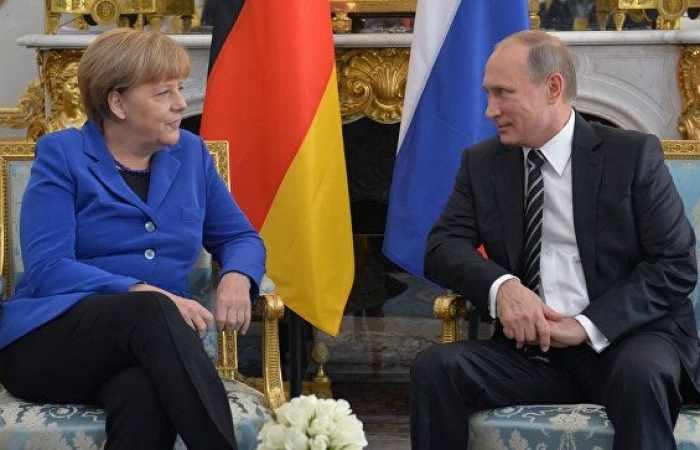 Putin, Merkel discuss Syria — Kremlin