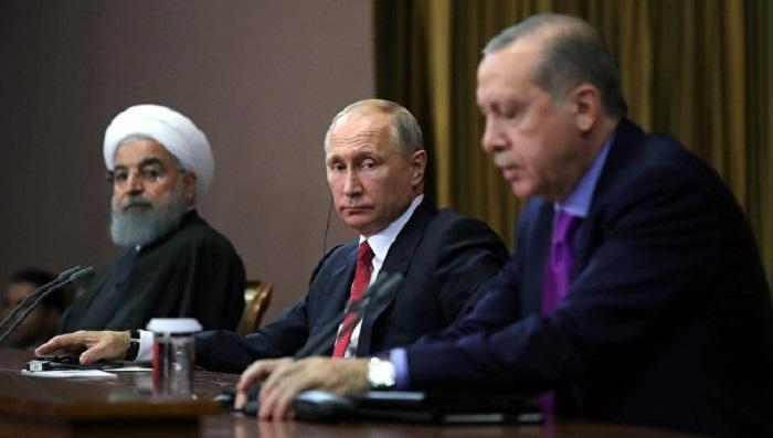 Ərdoğan, Putin və Ruhani İstanbulda görüşəcək