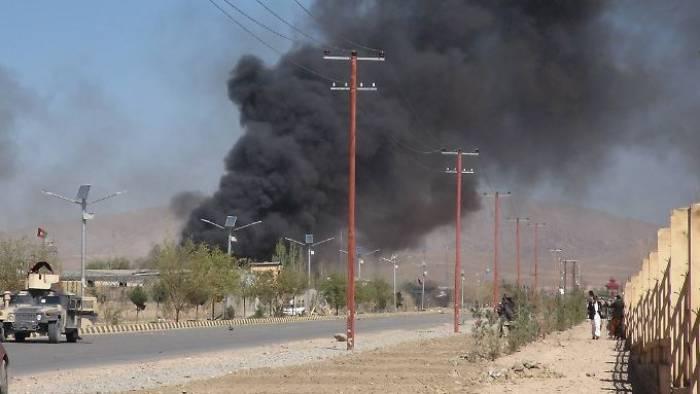 Taliban stürmen Polizeischule