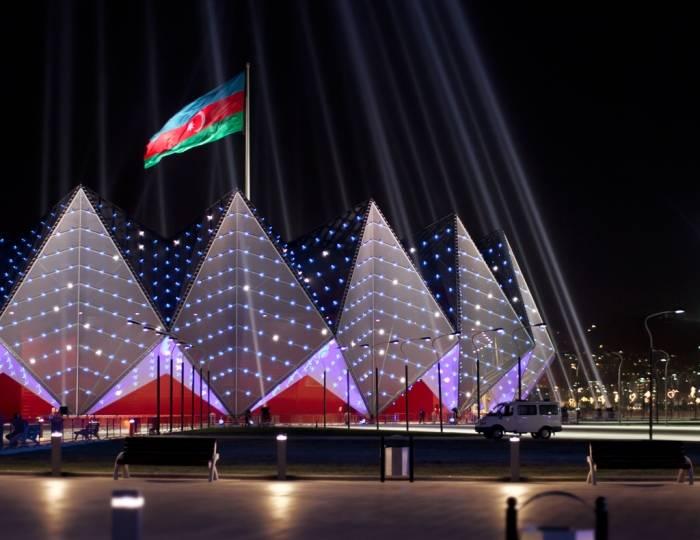 Los cuartos  Juegos de Solidaridad Islámica dispuestos para la espectacular Ceremonia de Apertura