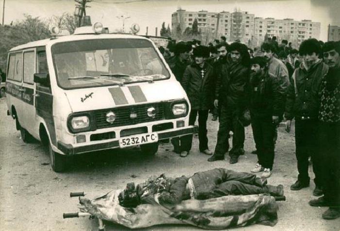 """""""Küçələr meyitlərlə dolu idi..."""" - Boris Dobinin 20 yanvar xatirələri (FOTOLAR)"""