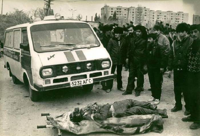 Le célèbre photographe juif: Les rues étaient pleines de cadavres à Bakou - PHOTOS
