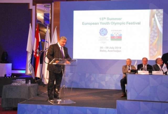 Baku to host European Youth Olympic Festival