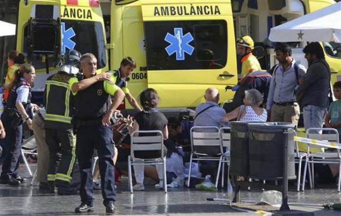 Barselonada dəhşətli terror - 13 ölü + VİDEO (YENİLƏNİB)