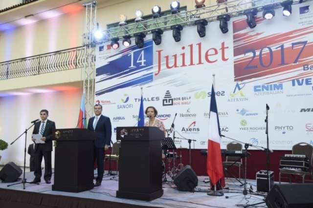 French Bastille Day marked in Baku