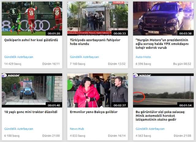 Azərbaycanda yeni videoportal yaradıldı
