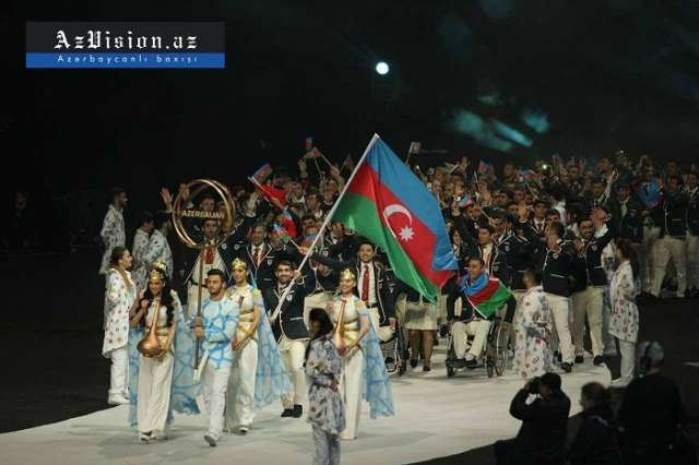 Opening ceremony of Baku 2017 Islamic Solidarity Games - VIDEO, PHOTOS, UPDATED