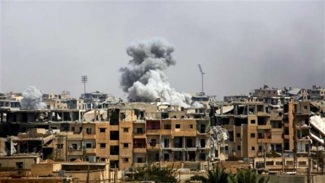 US-led warplanes drop white phosphorus bombs in northeast Syria