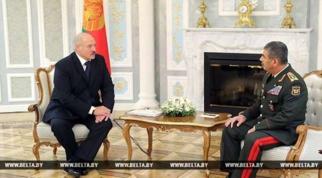 Prospects of Belarus-Azerbaijan military, technical cooperation discussed in Minsk - VIDEO