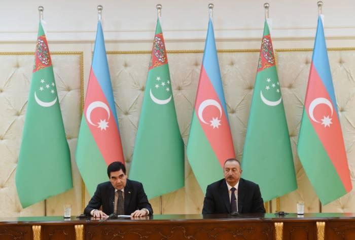 """""""Azərbaycan bizim etibarlı tərəfdaşımızdır"""" - Türkmənistan Prezidenti"""