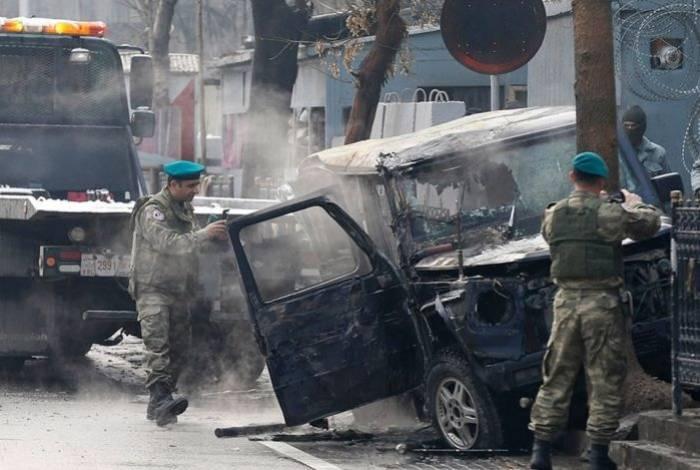 Əfqanıstandakı partlayışda 50 nəfər ölüb - Yenilənib