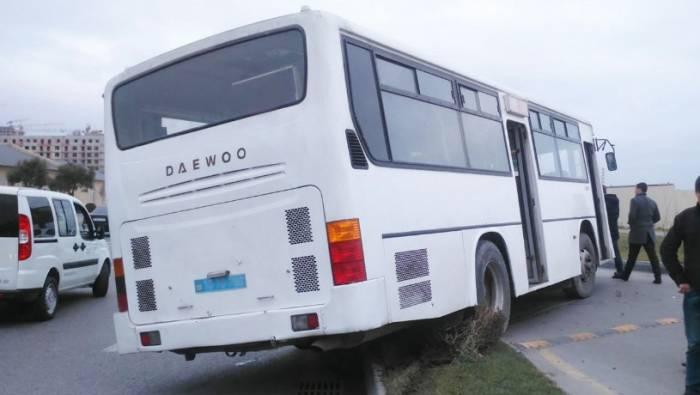Bakıda avtobus ölümə səbəb oldu