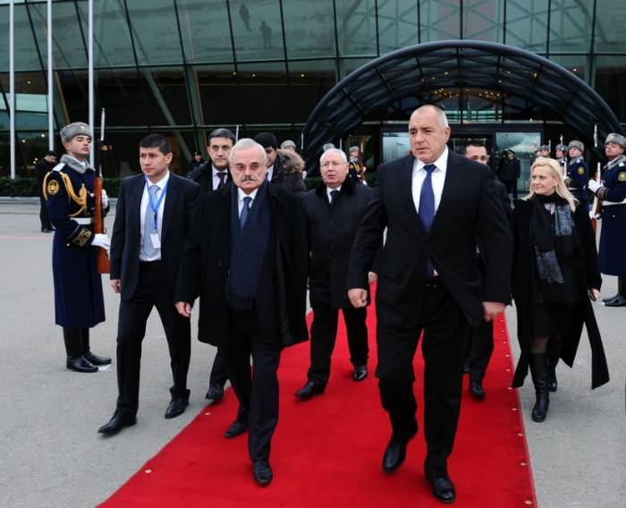 Se acabó la visita de Boiko Borisov a Azerbaiyán