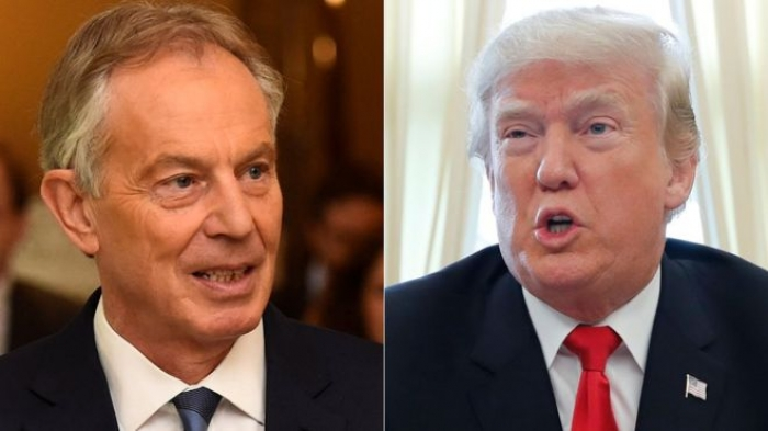 Claim Trump aide warned of UK spying absurd, says Tony Blair