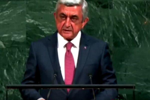 Sarkisyan BMT tribunasından ifşa edildi – VİDEO