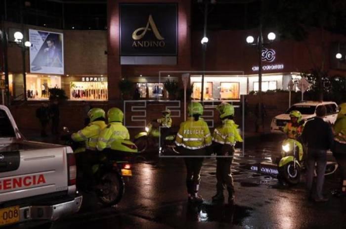 Un ataque terrorista causa 3 muertos y 9 heridos en un centro comercial de Bogotá