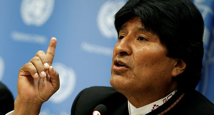 Argentina to allow refugee Morales of Bolivia to make political statements