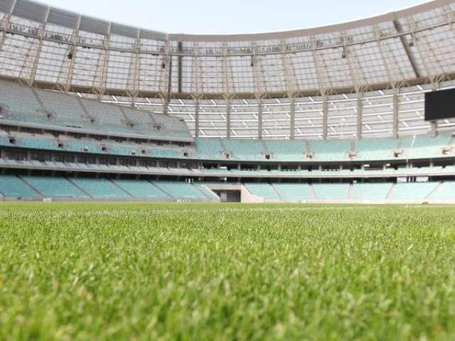 Bakı Olimpiya Stadionunda hazırlıq