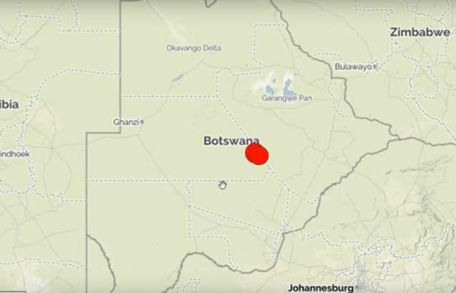 Un séisme de magnitude 6,5 frappe le Botswana