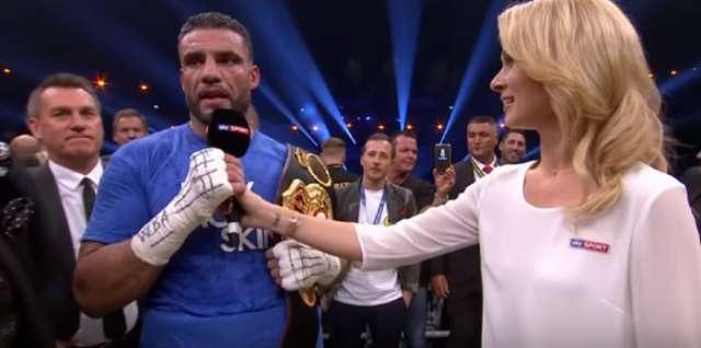 Box-Weltmeister Manuel Charr möchte Gürtel Erdogan schenken