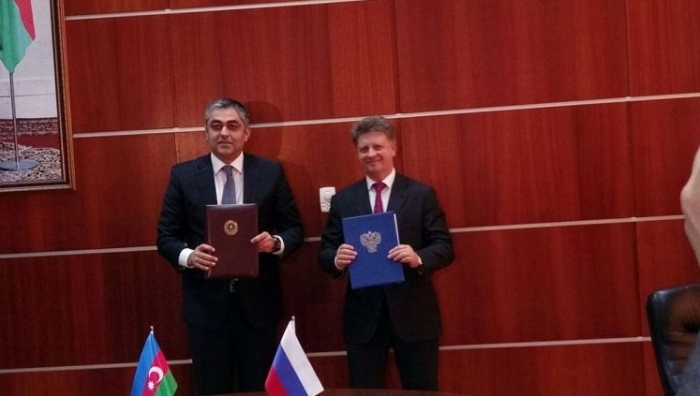 Azerbaijan, Russia sign protocol on construction of highway bridge over Samur River