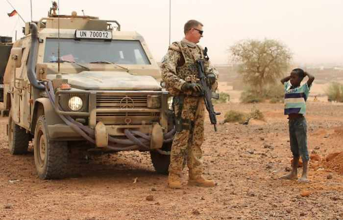 Hitze in Mali legt Bundeswehrgeräte lahm