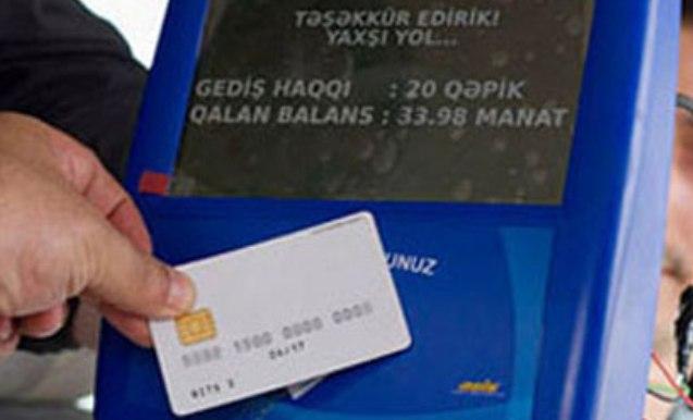 Sumqayıt da kart sisteminə keçəcək