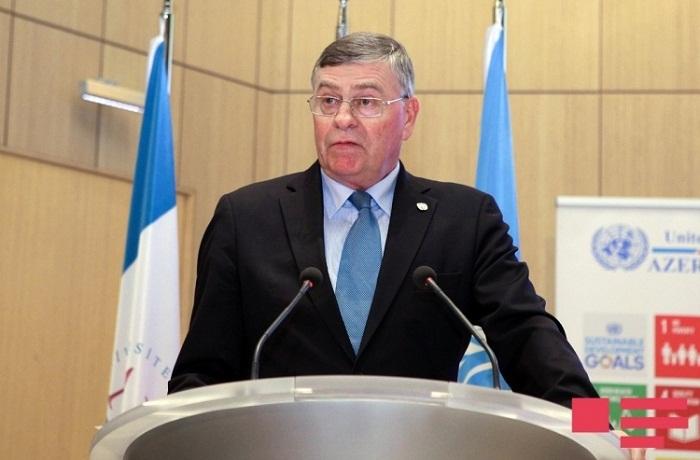 L`Azerbaïdjan est impliqué dans la résolution d`un certain nombre de problèmes mondiaux