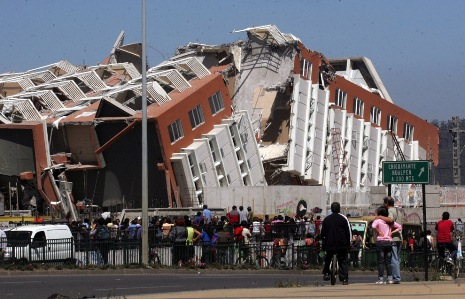Five Dead After Huge Quake Hits off Coast of Chile -VIDEO