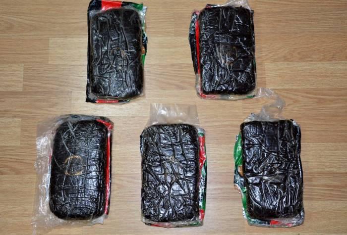 5 kq narkotiki satarkən saxlanıldı - Video