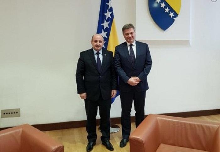 Deputatın Bosniya və Herseqovinada rəsmi görüşləri davam edir