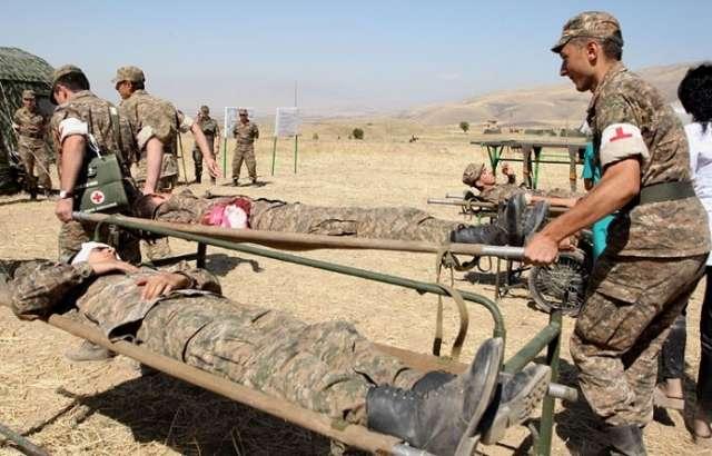 إصابات خطيرة في الجيش الأرمني: 4 قتلى و 10 جرحى في 8 أيام