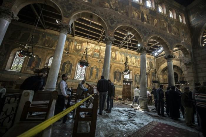 La Cancillería siria condena atentado contra la iglesia copta de El Cairo