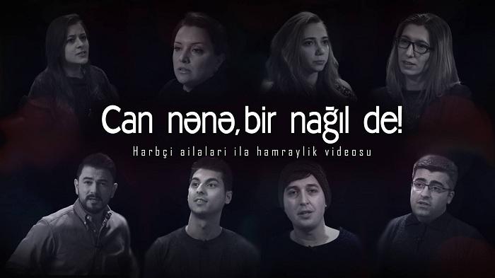 """""""İndi onu səngərdə üşütmürmü qar, külək?!"""" – Hərbçi ailələri ilə həmrəylik VİDEOSU"""