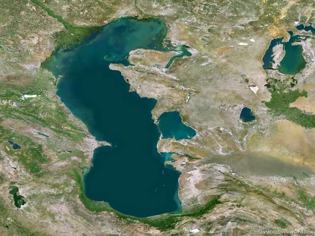 Rising global temperatures change Caspian Sea's ice regime, study finds