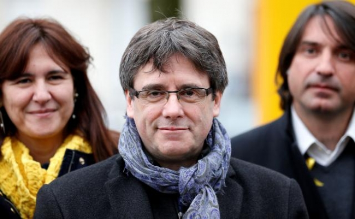 Catalonia's Puigdemont arrives in Denmark without being detained